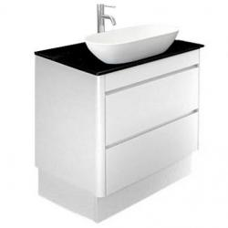 View Photo: Milano Plus 750 Vanity on Plinth with Caesarstone Top