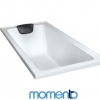 Momento Alfa Acrylic Bath - With or Without  Tiling Bead