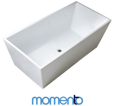 View Photo: Momento Cubica Free Standing Bath Available in 4 sizes