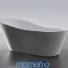 Momento FS14 free standing bath 1800 Whit or Black Exterior
