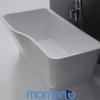 Momento FS2 Free Standing Bath 1700 or 1500, Black or White exterior