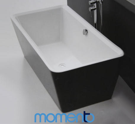 View Photo: Momento FS3 Free Standing Bath 1700 White or Black Exterior