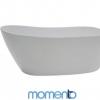 Momento FS6 Free Standing Bath 1700 White or Black Exterior