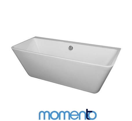 View Photo: Momento Oporto Bath - Back to wall free standing bath