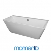 Momento Oporto Bath - Back to wall free standing bath