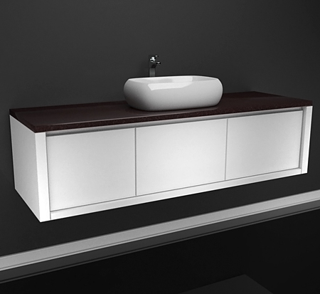 Newstead 1500 vanity with ceasarstone top