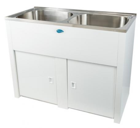 NuGleam Twin laundry tub