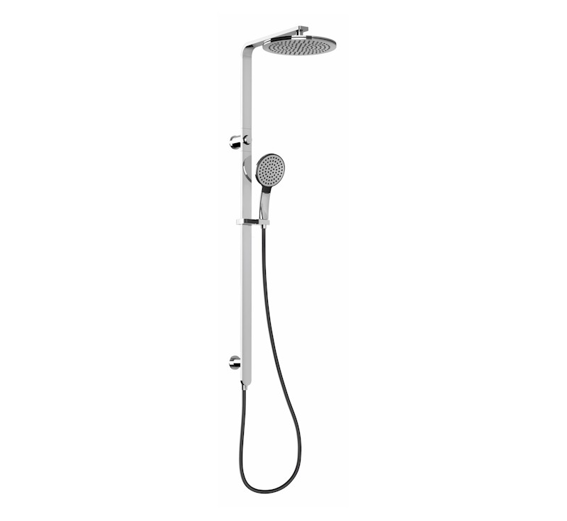View Photo: NX Quil Twin Shower - Chrome