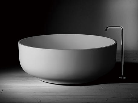 View Photo: Omnia Round Stone Bath 1500 - 10 Years Warranty
