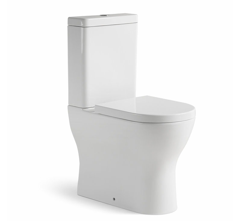 View Photo: Positano Rimless Wall Faced Toilet Suite