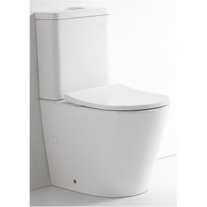 View Photo: Prado Rimless Back to Wall Toilet Suite Nano Glaze 15yrs Wty