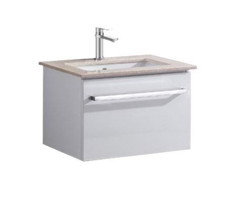View Photo: Ravello 600 Wall Hung Vanity, Caesarstone Top Single Basin