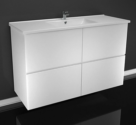 View Photo: Richmond wall hung vanity - also available with plinth