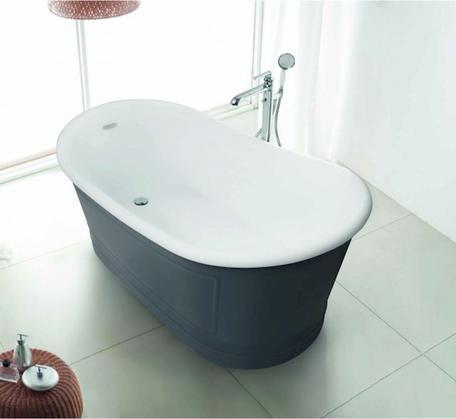 View Photo: Ritz Free Standing Bath 1676mm Premium Collection - Grey