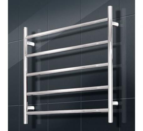 View Photo: Round heated towel rail 750 x 550 - 5 bars