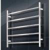 Round heated towel rail 750 x 550 - 5 bars