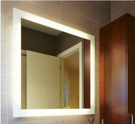 View Photo: S Range Premium Back-lit Mirror (cool light) - 5 Sizes