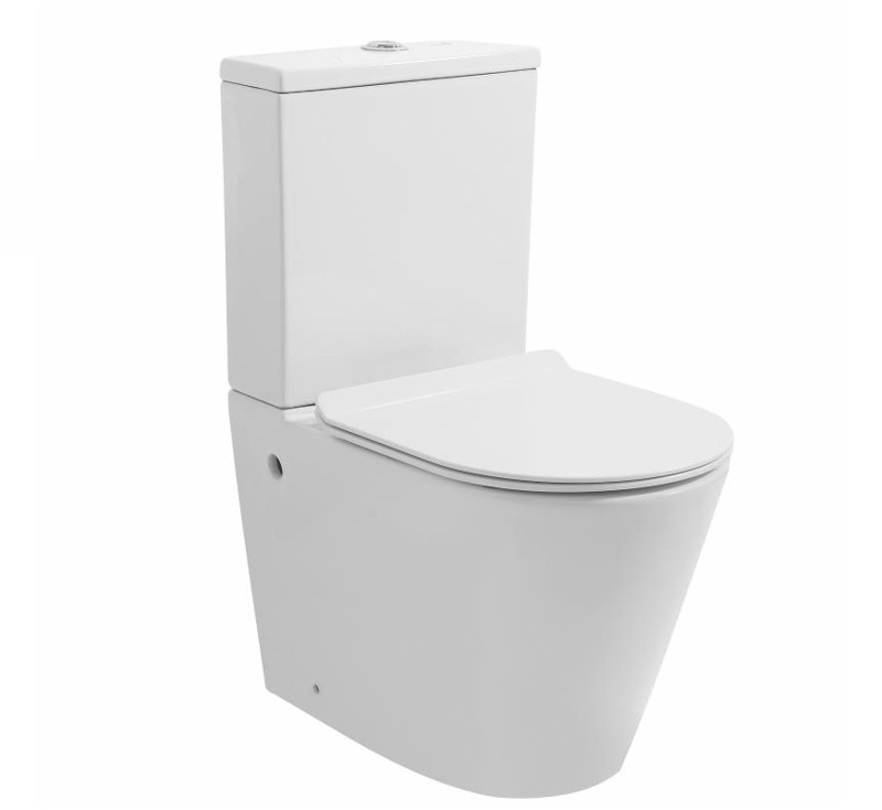 View Photo: Sandra Rimless Wall Faced Toilet Suite