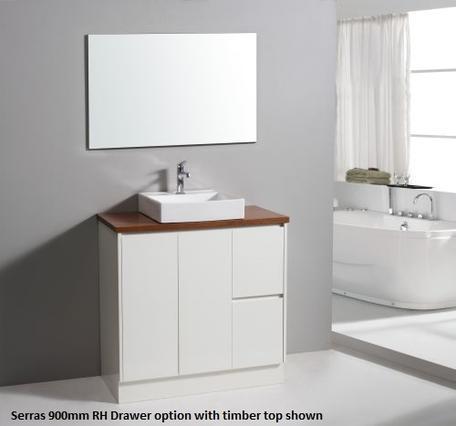 Serras 900mm Vanity