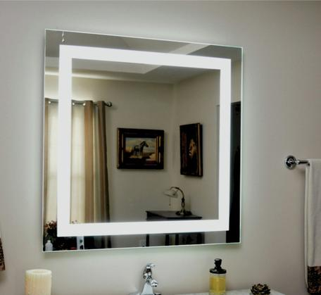 View Photo: SQ Range Premium Back-lit Mirror (cool light) 762x762