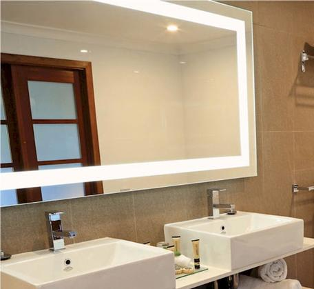 SR Range Premium LED Backlit Mirror (Cool Light) - 2 Sizes