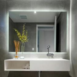 View Photo: SS Range Premium Back-lit Mirror (cool light) 2 Sizes