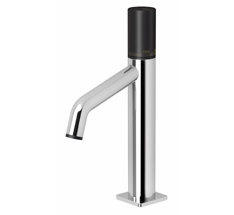 Toi Basin Mixer Chrome/Matte Black