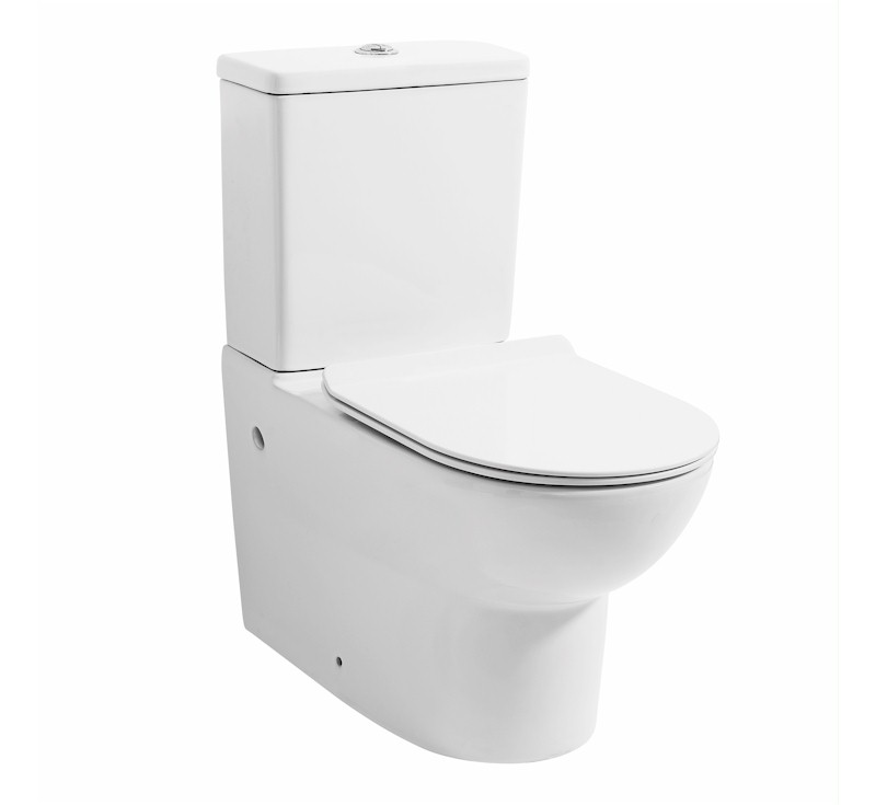 View Photo: Vera Rimless Wall Faced Toilet Suite