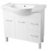 Virtue semi recessed vanity 750, 900, 1200, (plinth or legs)