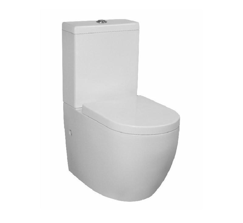 Voghera Tornado Flush Back to Wall Toilet Suite