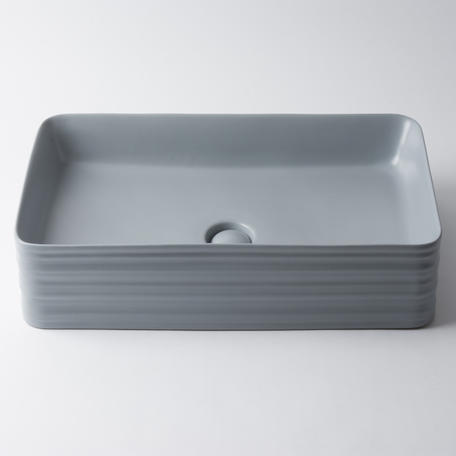 View Photo: Willow Large Rectangle Basin - Matte White, Grey or Black