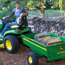View Photo: John Deere Compact Tractor with Tralier