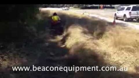 Watch Video : Atex R955M Ride on Slasher (Brush Cutter)