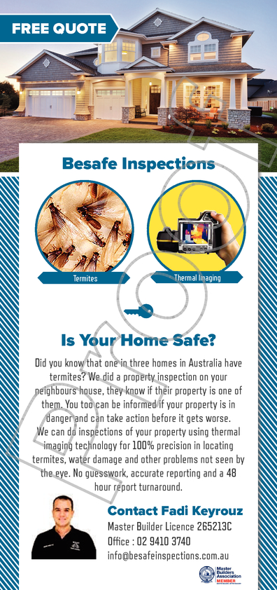 View Brochure: Besafe Inspections Flyer