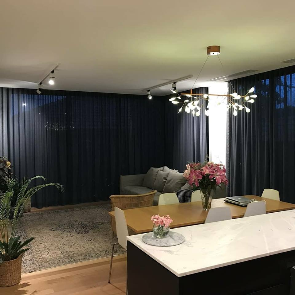 View Photo: Ceiling To Floor Wave Fold Sheer Curtain