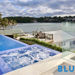 View Photo: Connells Point Saltwater Lap Pool With Spa