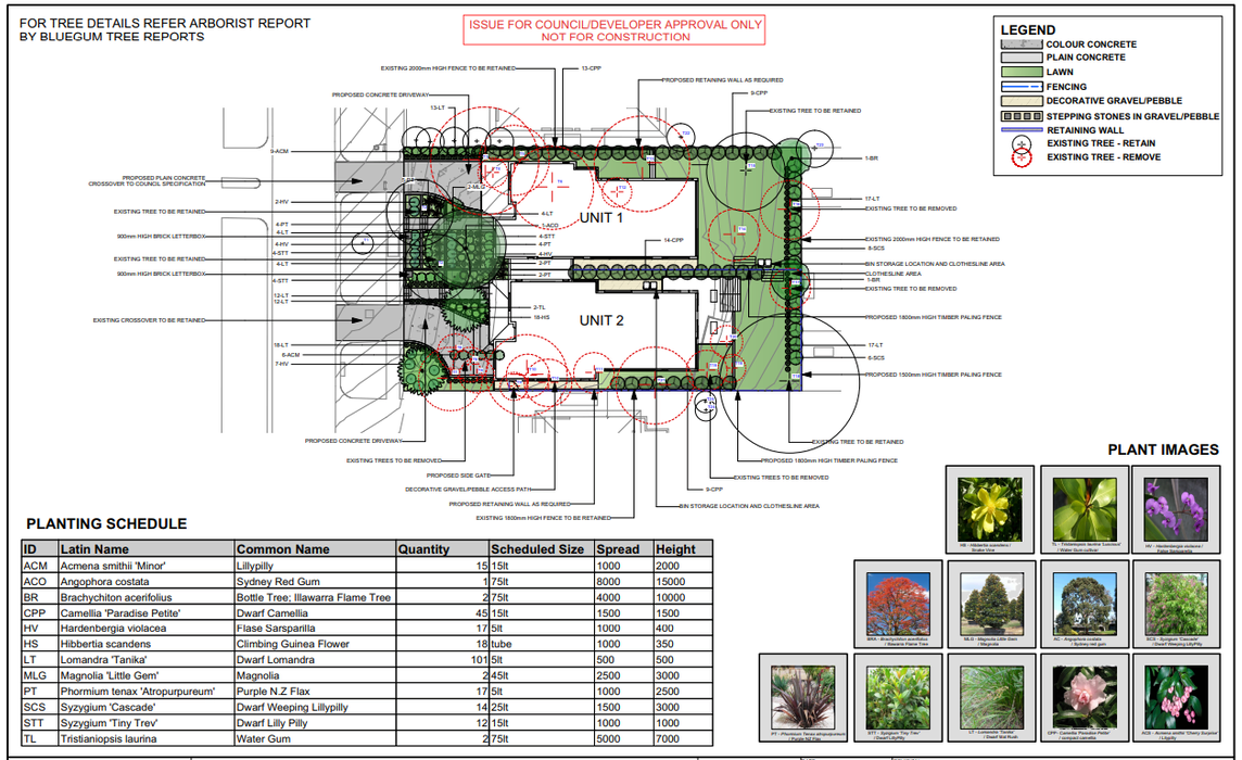 View Photo: Landscape Plan for DA