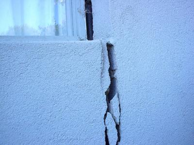 Cracked External Wall