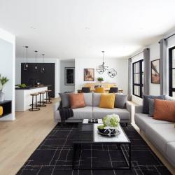 View Photo: Open plan living
