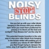 Stop Noisy Blinds