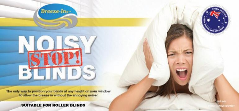 View Photo: Stop noisy blinds with Breeze-Ins (R)