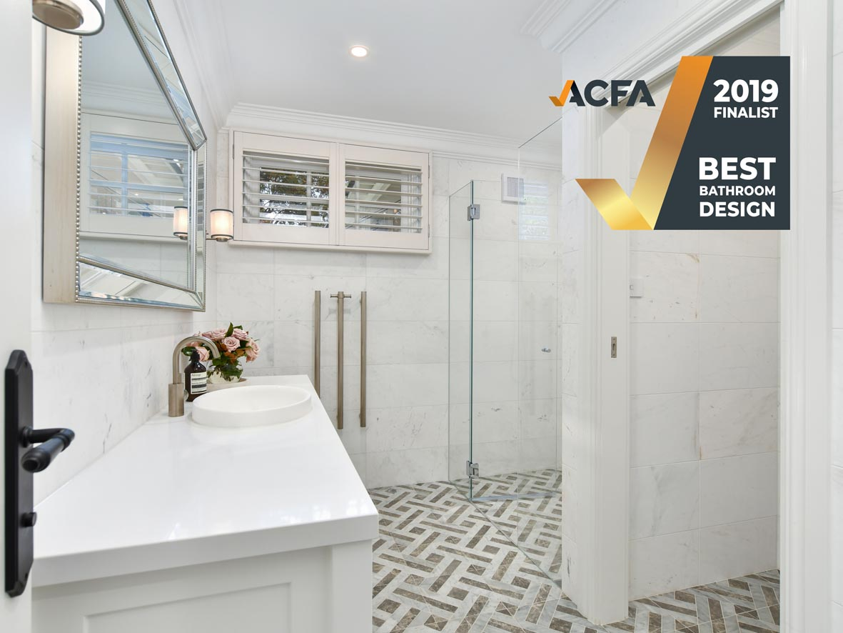 View Photo: ACFA Best Bathroom - New Build - Finalist