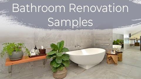 Watch Video: Sydney Bathroom Renovations - Brindabella samples