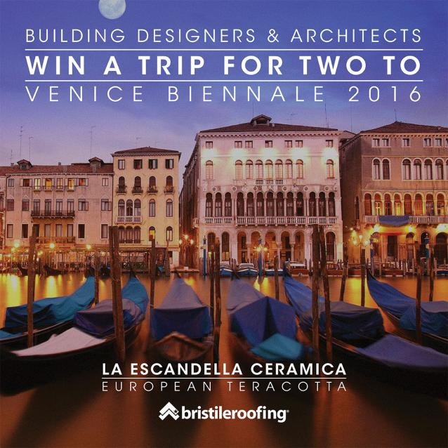 Read Article: Bristile Roofing Offers Prize of Trip to Venice Biennale for Designers and Architects