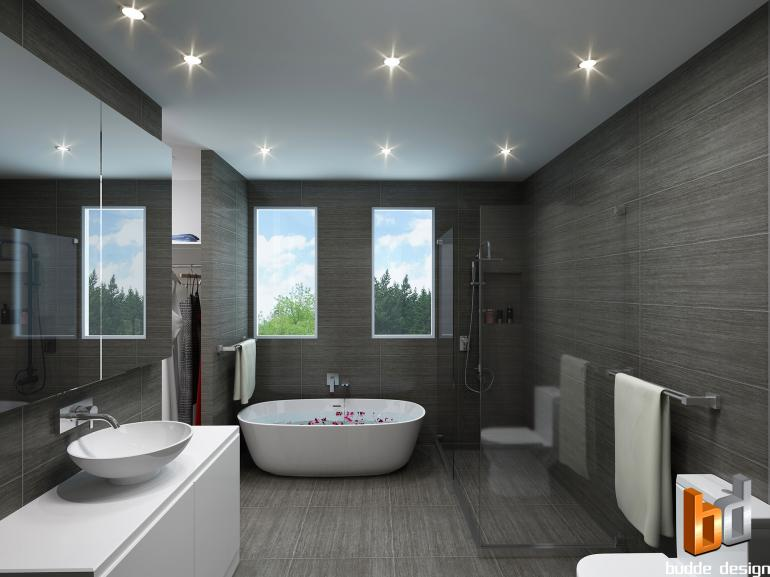 3D bathroom render for marketing purposes - Strathmore Victoria
