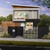 3D external Artist Impression, 3 Bedroom townhouse - Strathmore Victoria