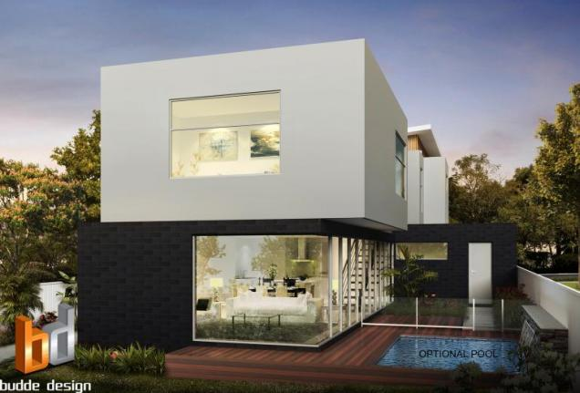 View Photo: 3D external Artist Impression, 3 Bedroom townhouse - Strathmore Victoria