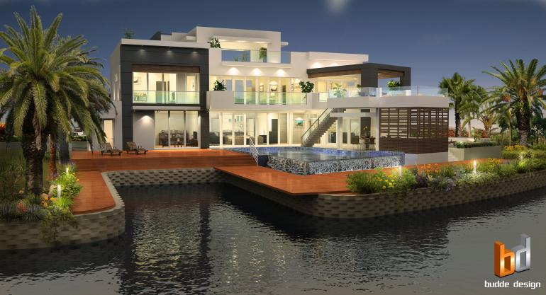 3D external Artist Impression - Cayman Islands