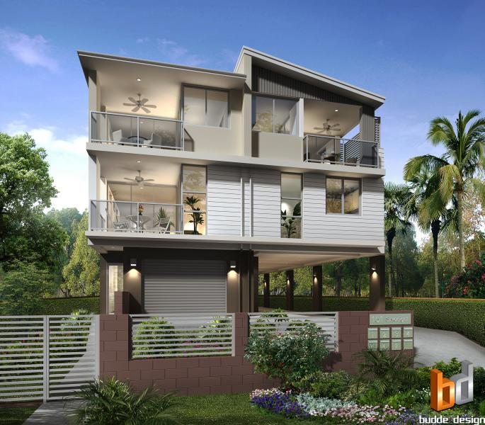 3D external render for a development project - Morningside, Brisbane QLD