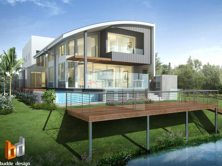 3D external render for colour selection and design purposes - Townsville QLD